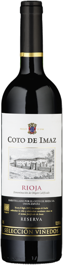 "Rioja DO Tinto ""Reserva Seleccion Vinedos"" Coto de Imaz - 2015"