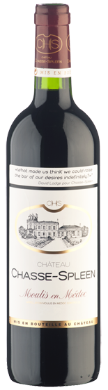 Château Chasse-Spleen  - 2018